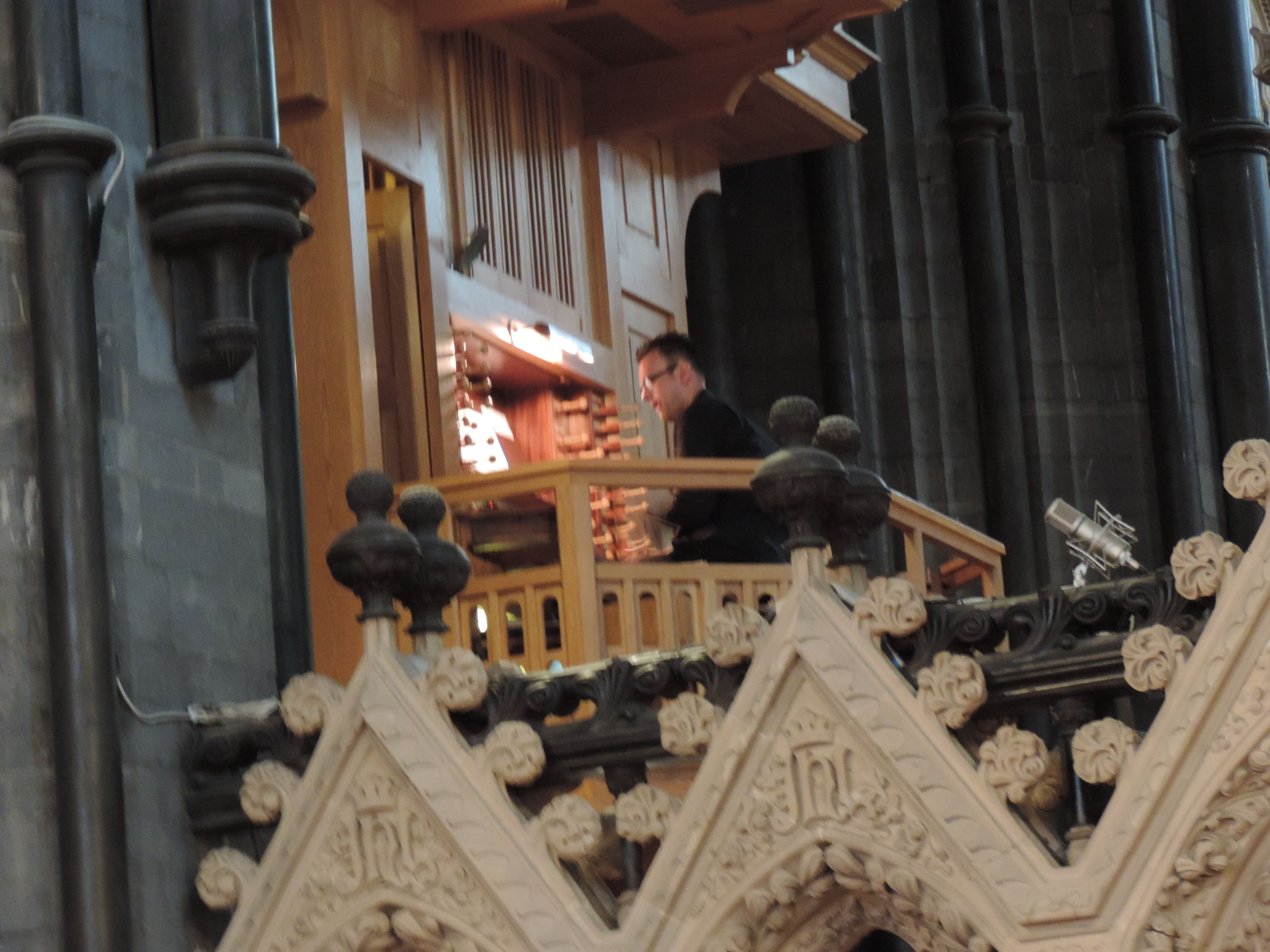James Gough, organist Christchurch Cathedral